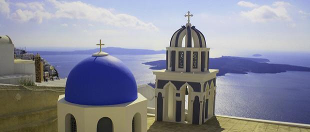 Fira, Illes gregues